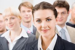 Female leader Stock Photos