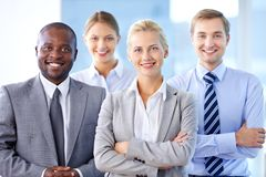 Female leader Royalty Free Stock Image