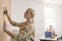 Female Leader Teaching New Employee Stock Photo