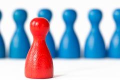 (Female) leadership stock image