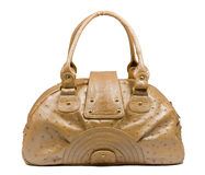 Female leather bag Royalty Free Stock Photos