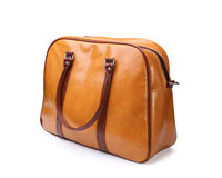 Female leather bag Stock Images