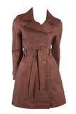 Female leather jacket Stock Photos