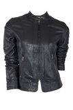 Female leather jacket Royalty Free Stock Images