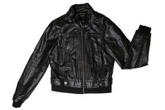 Female leather jacket Royalty Free Stock Image