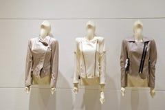 Female leather jackets Royalty Free Stock Photo