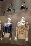 Female leather jackets Royalty Free Stock Photos