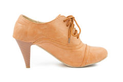 Female leather shoes Stock Image