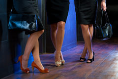 Female legs Stock Image