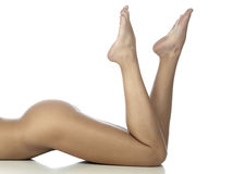 Female legs Stock Photo