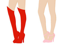 Female legs Royalty Free Stock Images