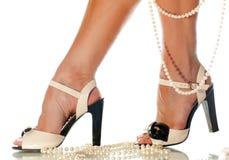 Female legs Royalty Free Stock Photos