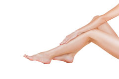 Female legs Royalty Free Stock Photo