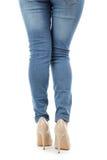 Female legs Stock Photo