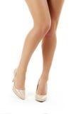 Female legs Stock Images