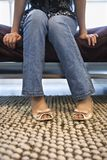 Female legs and feet. Royalty Free Stock Photos