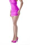 Female legs. Isolated over white background Royalty Free Stock Photo
