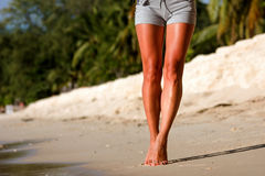 Female legs Royalty Free Stock Photography