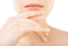 Female lips Stock Image