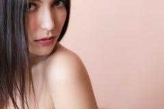 Female lips. Stock Images