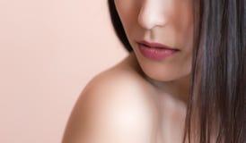 Female lips. Stock Photos