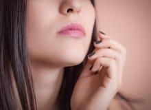 Female lips. Stock Image
