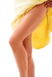 Female with Long Legs Royalty Free Stock Photography