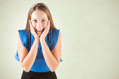 Female Looking Surprised Stock Photos