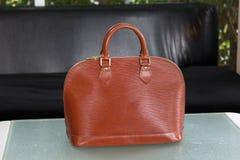 Female luxury personal fashion bag Stock Photography