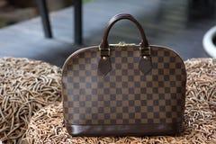 Female luxury personal fashion bag Stock Image