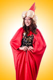 Female magician Royalty Free Stock Images