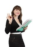 Female  manager Stock Photography