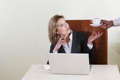 Female manager Royalty Free Stock Photos