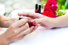 Female manicure Royalty Free Stock Photo