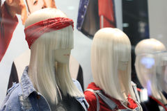 Female mannequin display Stock Photos