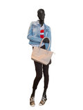 Female mannequin dressed in casual clothes Stock Photography