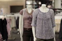 Female mannequins Royalty Free Stock Images