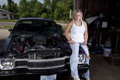 Female Mechanic Stock Photos
