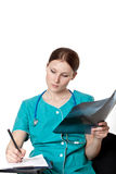 Female medic Royalty Free Stock Photography