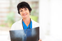 Female medical doctor Royalty Free Stock Photography