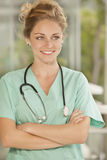 Female medical doctor Stock Photo