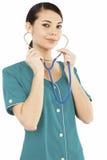 Female medical doctor or nurse Royalty Free Stock Photo