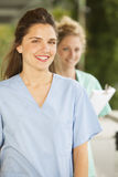 Female medical doctors Stock Image