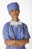 Female Medical Professional Stock Image