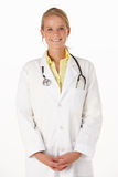 Female medical professional in studio Stock Photos