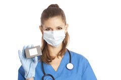 Female medical specialist Stock Image