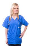 Female Medical Student Royalty Free Stock Image