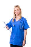 Female Medical Student Stock Photo