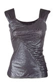 Female metallic tank top Stock Photography