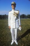 Female Midshipman, United States Naval Academy, Annapolis, Maryland Stock Image